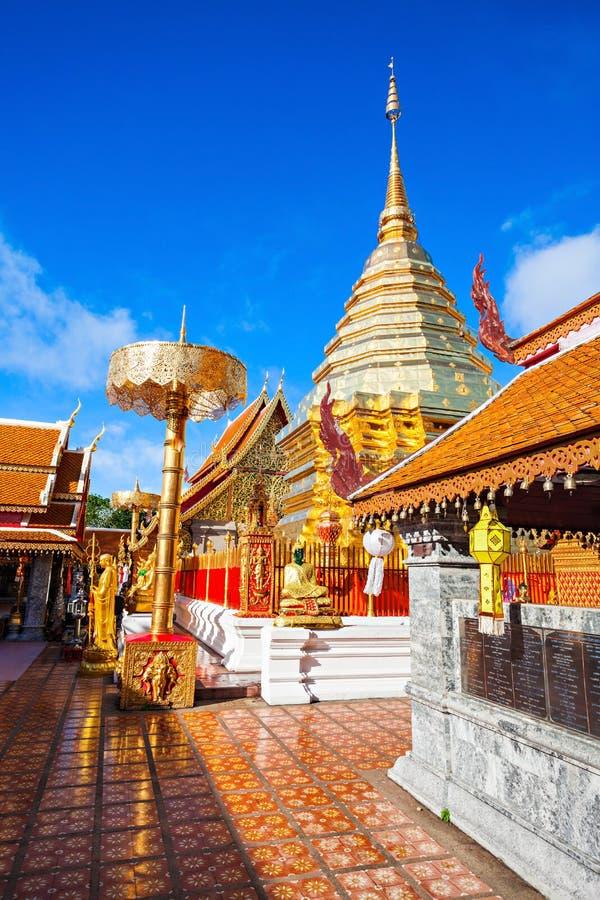 Doi Suthep świątynia zdjęcie royalty free