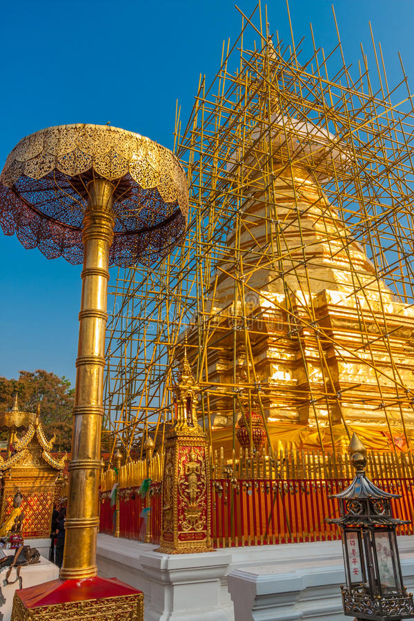 Doi Suthep fotografia de stock