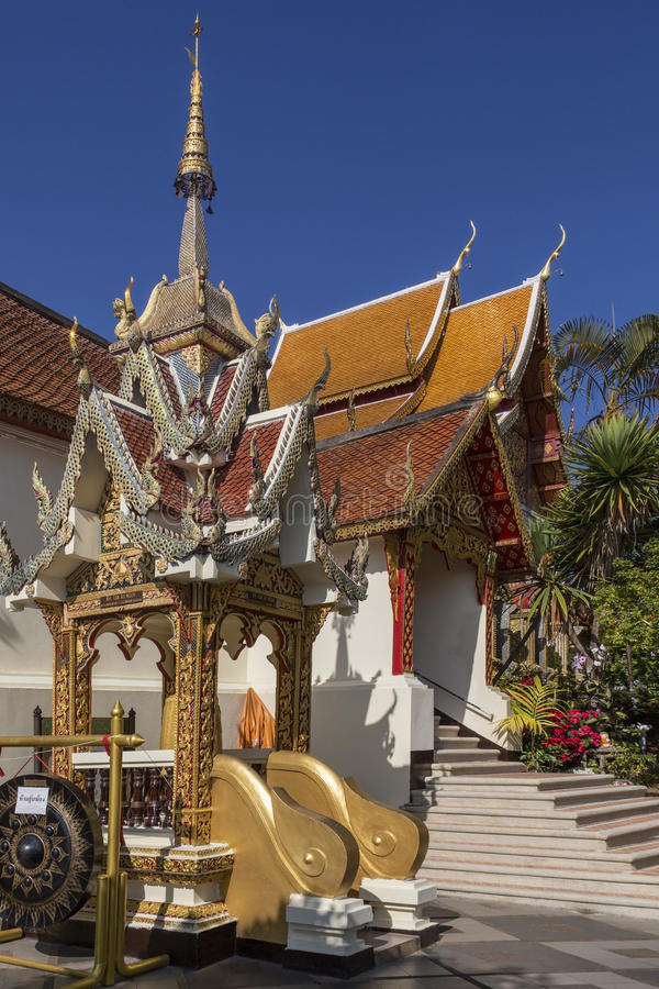 Doi Suthep Buddhist Temple - Chiang Mai - Thailand royalty free stock photo