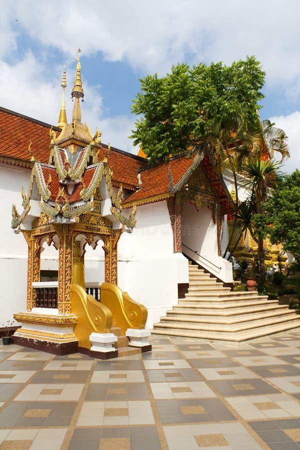 Doi Suthep in Chang MAI, Thailand stockbilder
