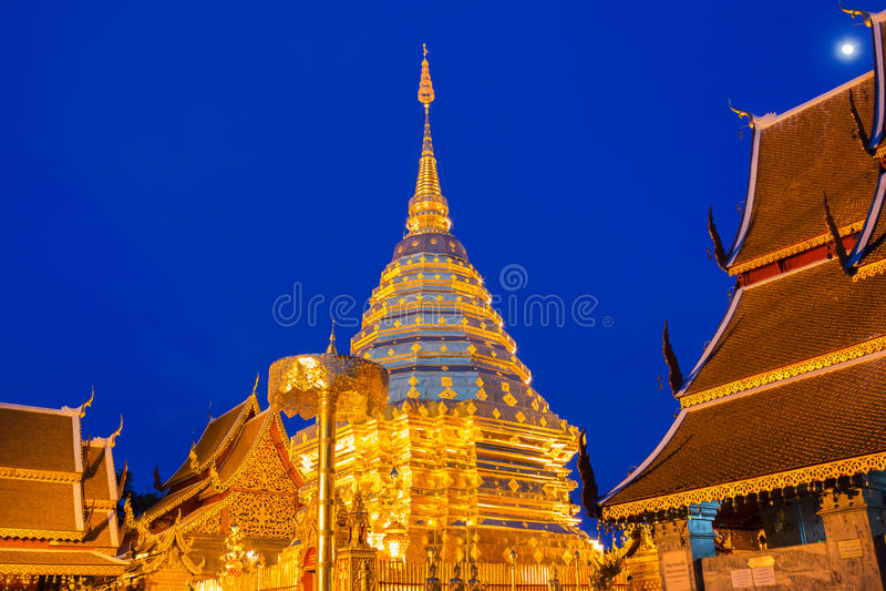 Doi Suthep Chiang Mai fotografia de stock royalty free