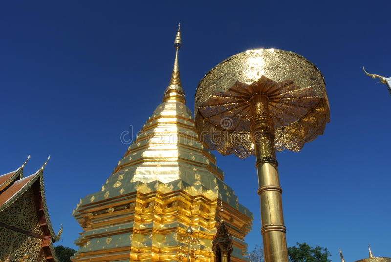 Doi Suthep Chiangmai Ταϊλάνδη στοκ φωτογραφία με δικαίωμα ελεύθερης χρήσης