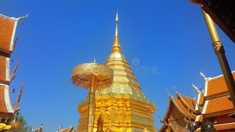 Doi Suthep tempel royaltyfria bilder