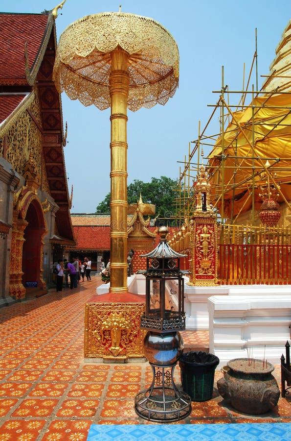 Doi Suthep temple, Thailand royalty free stock photos