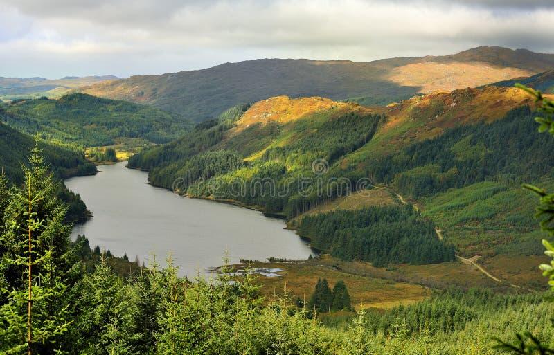 doilet loch Scotland sunart zdjęcia royalty free