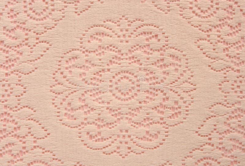 doily ροζ δαντελλών μαλακό στοκ εικόνες