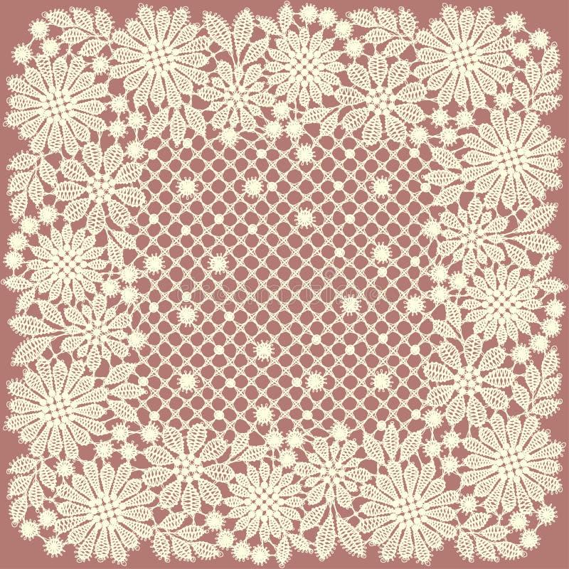 doily lace Ram stock illustrationer