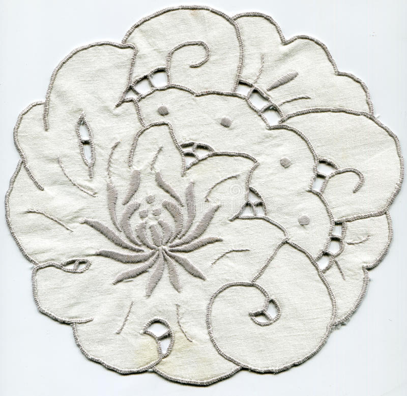 Free Doily With Embroidery Rococo Royalty Free Stock Images - 22190019