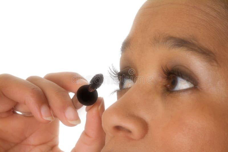 Download Doing eyelashes stock image. Image of improving, dyeing - 76019
