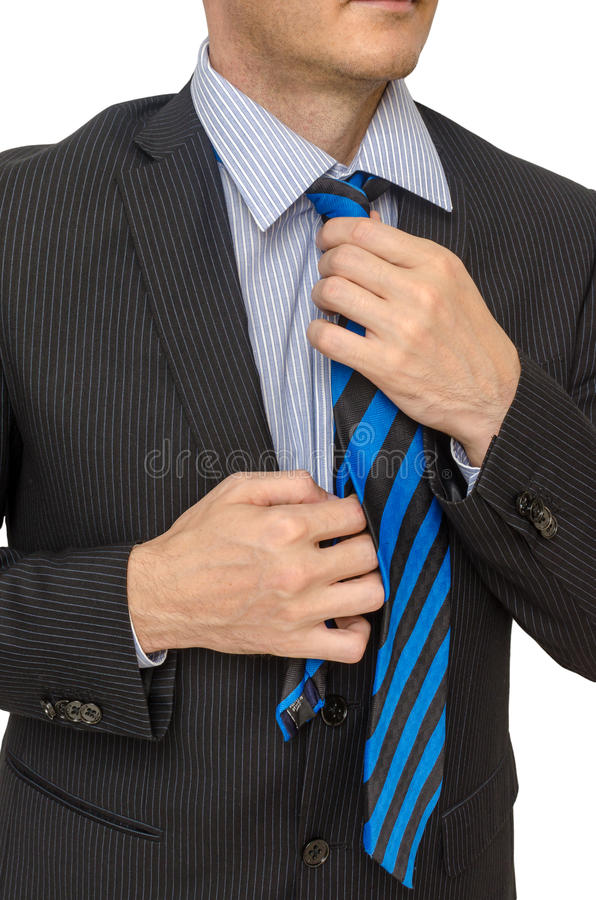 Download Doing A Tie Royalty Free Stock Image - Image: 27541306