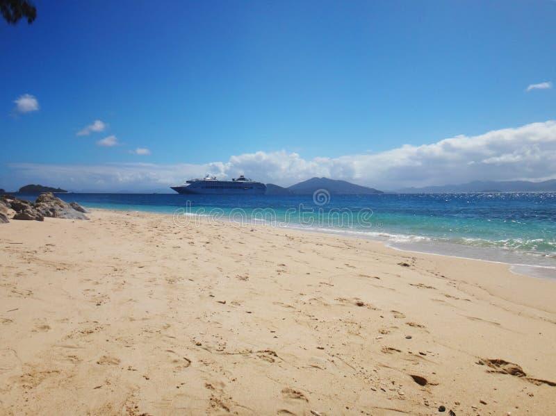 Doini-Insel, Papua-Neu-Guinea lizenzfreies stockfoto