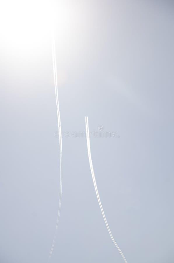 Dois aviões foto de stock royalty free