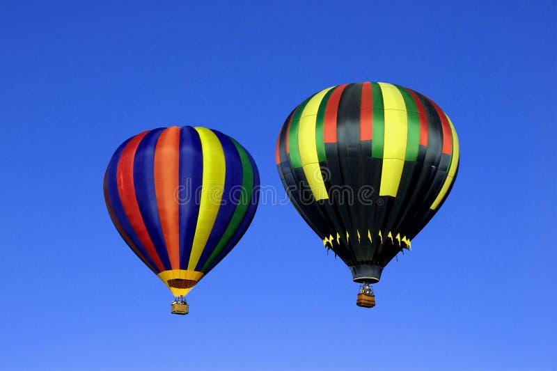 Dois balões foto de stock