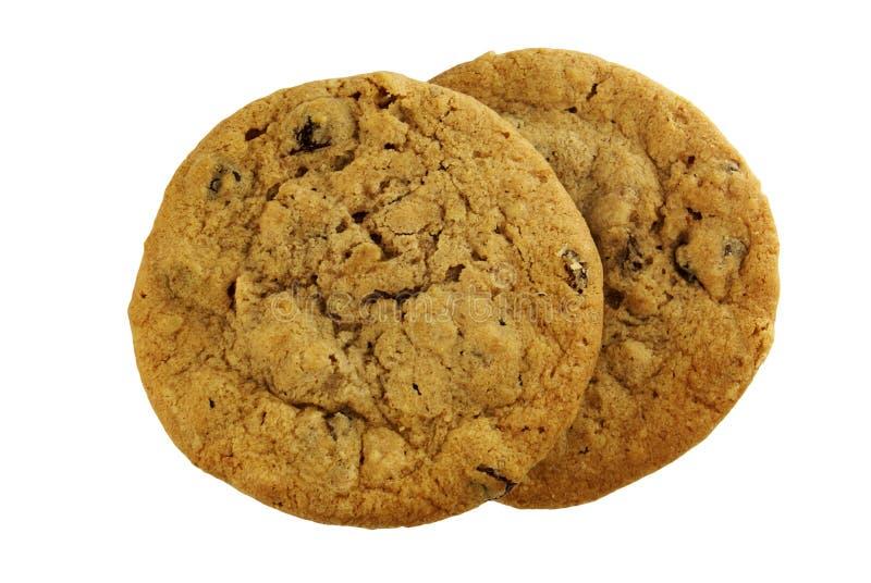 Download Dois Bolinhos De Raisin Do Oatmeal Foto de Stock - Imagem de christmas, chocolate: 10064918