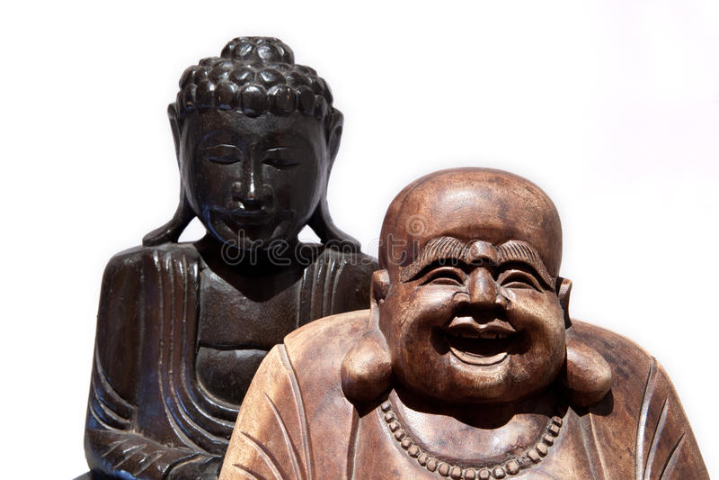 Dois buddha fotografia de stock royalty free