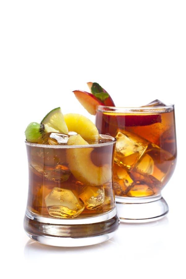 Dois cocktail fotos de stock