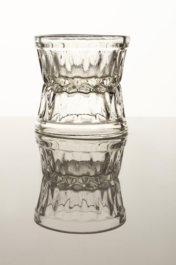 Dois copos de vidro do molho pequeno imagem de stock royalty free