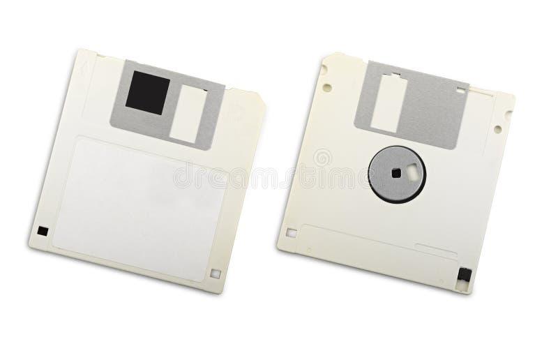 Dois discos flexíveis foto de stock royalty free