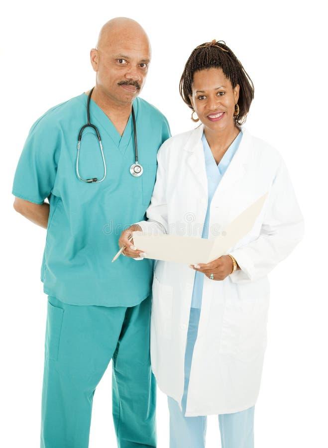 Dois doutores fotos de stock