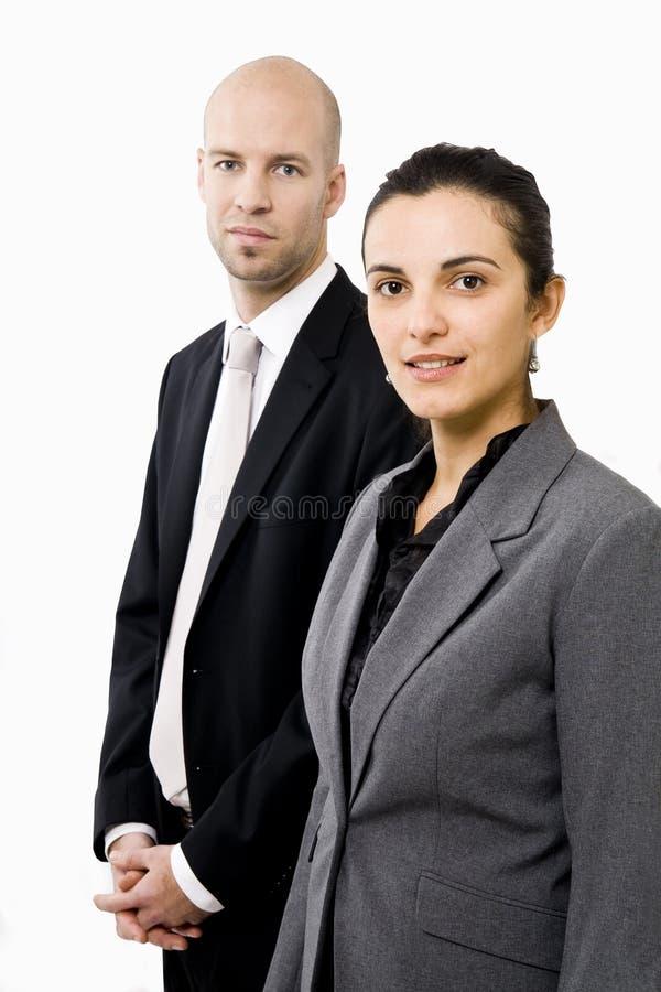 Dois empresários foto de stock