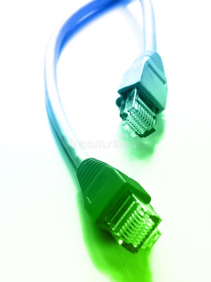 Dois encaixes da rede