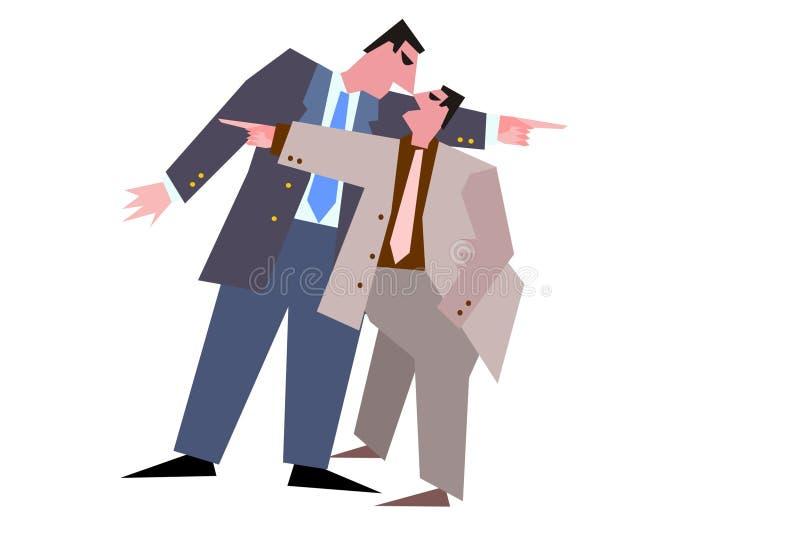 Dois equipam ilustração do vetor