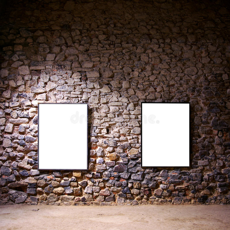 Dois frames fotografia de stock royalty free