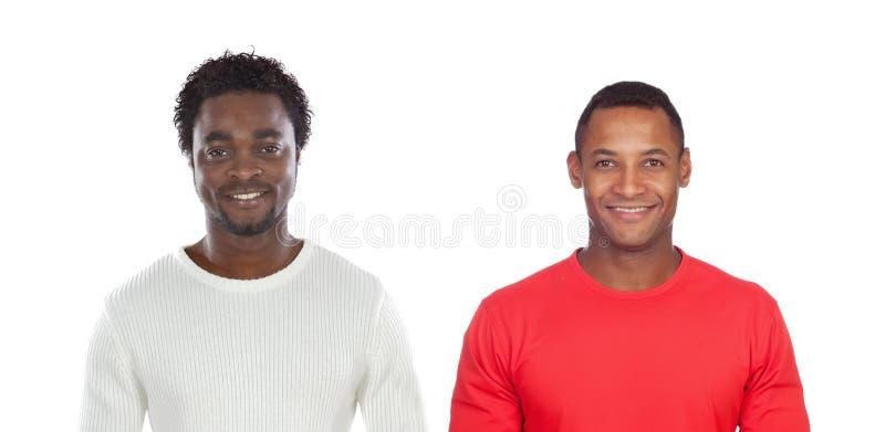 Dois homens consideráveis imagens de stock