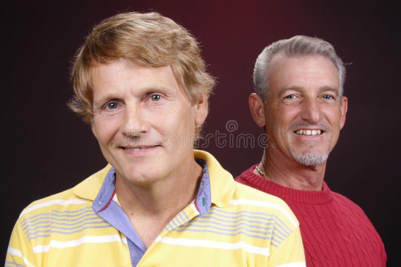 Dois indivíduos foto de stock royalty free