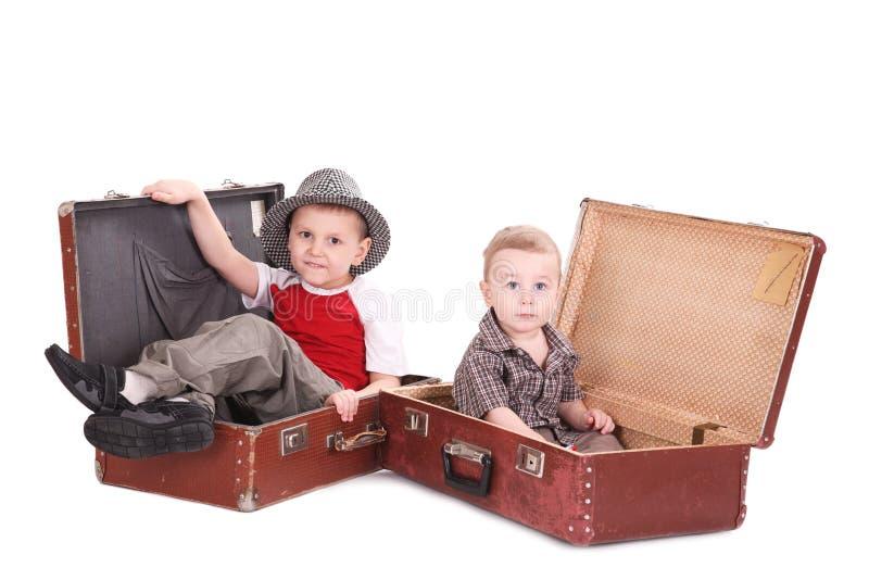 Dois irmãos imagem de stock royalty free