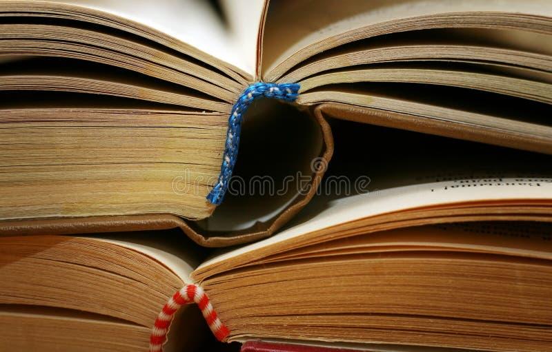 Dois livros imagem de stock