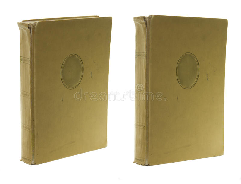 Download Dois livros velhos foto de stock. Imagem de espaço, projeto - 12801326