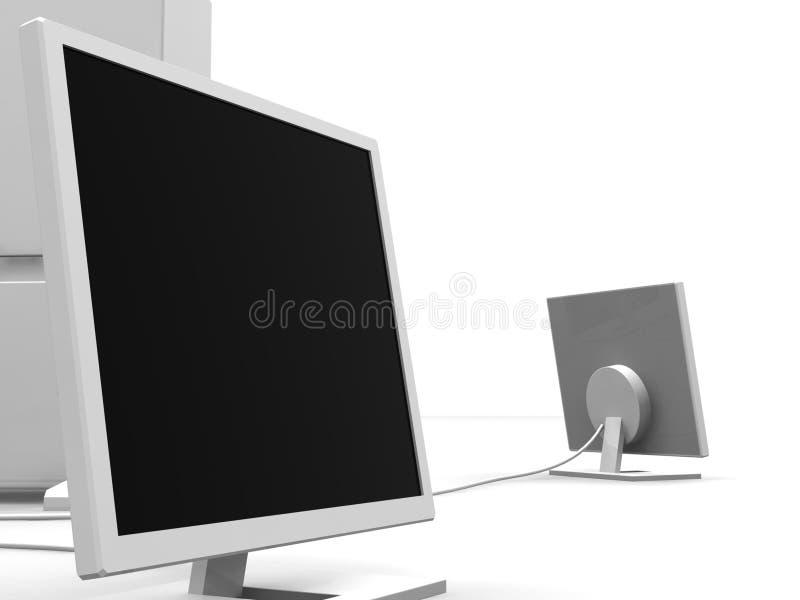 Download Dois Monitores 2 Fotos de Stock Royalty Free - Imagem: 363548