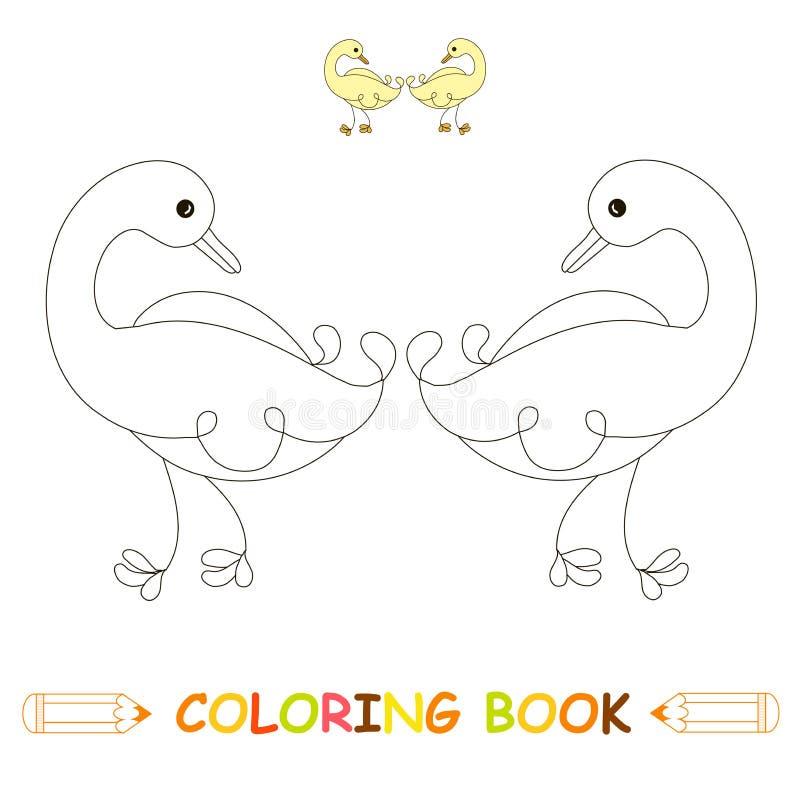 Pato Do Vetor Rebecca 36 Ilustracao Do Vetor Ilustracao De