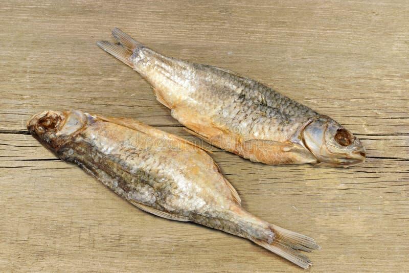 Dois peixes secados de sal, XXXL foto de stock