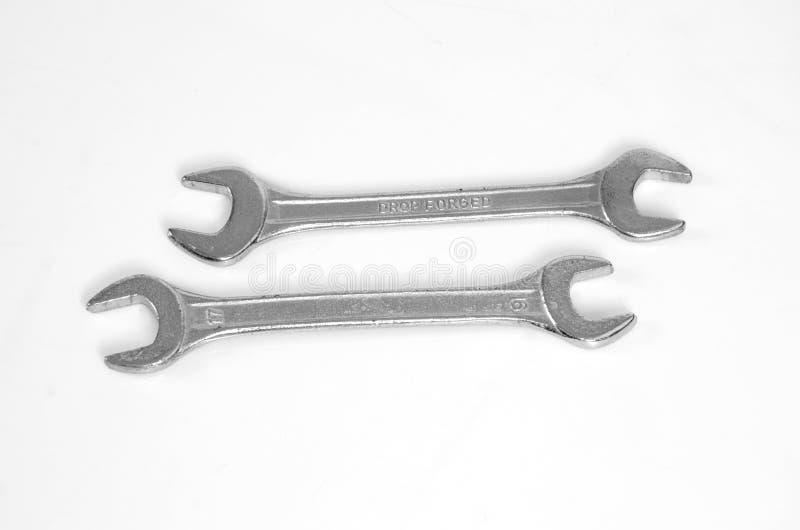 Dois punhos da chave imagens de stock royalty free