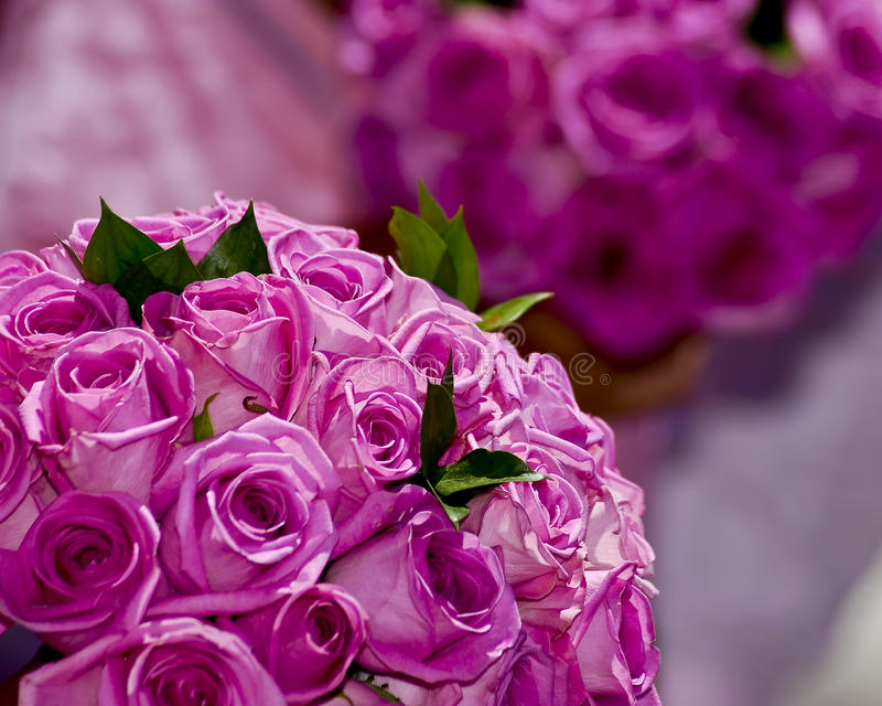 Dois ramalhetes wedding da flor imagem de stock