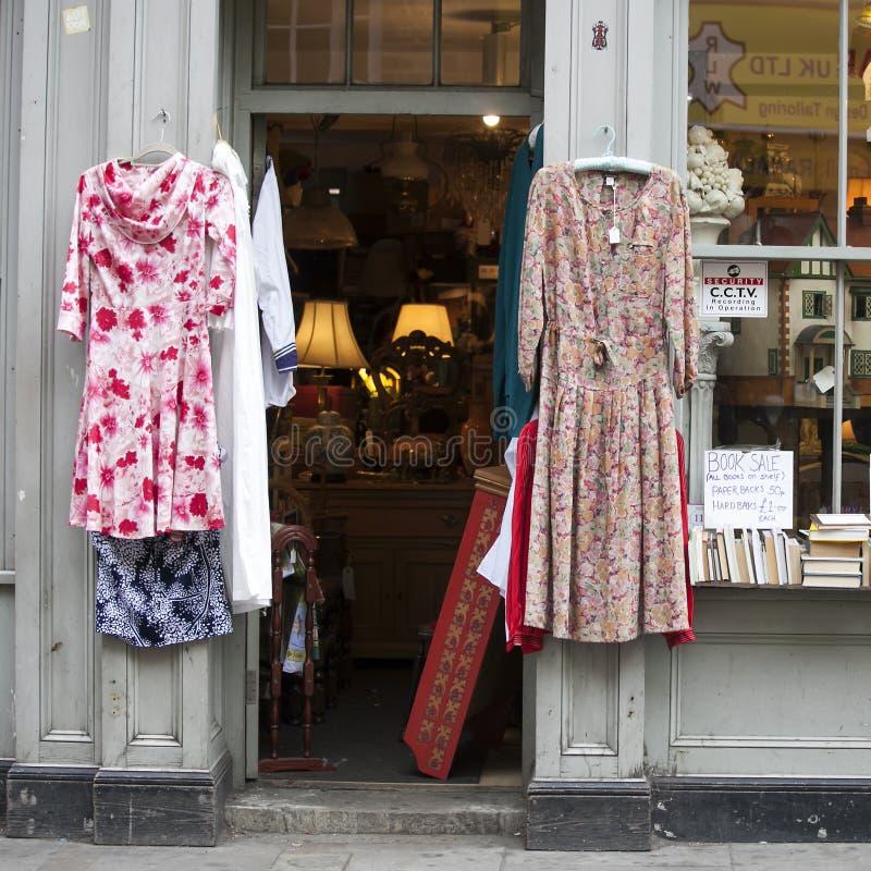 Dois vestidos do vintage fotos de stock royalty free