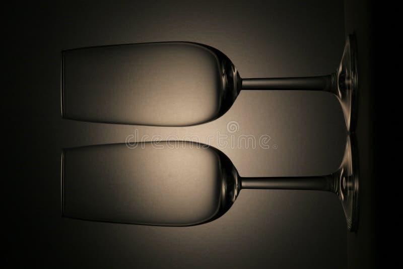 Dois vidros foto de stock royalty free