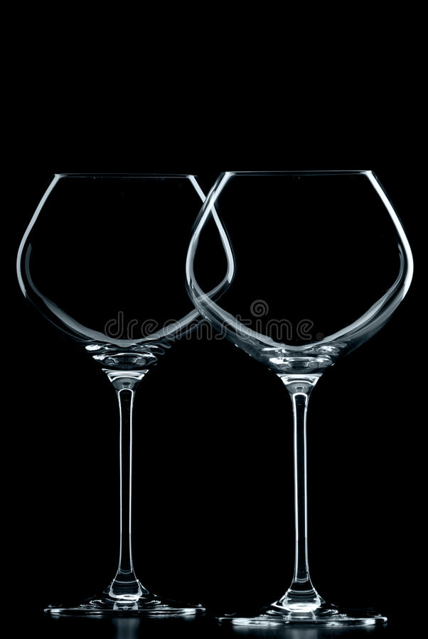 Download Wineglasses foto de stock. Imagem de wineglass, vazio - 29831956