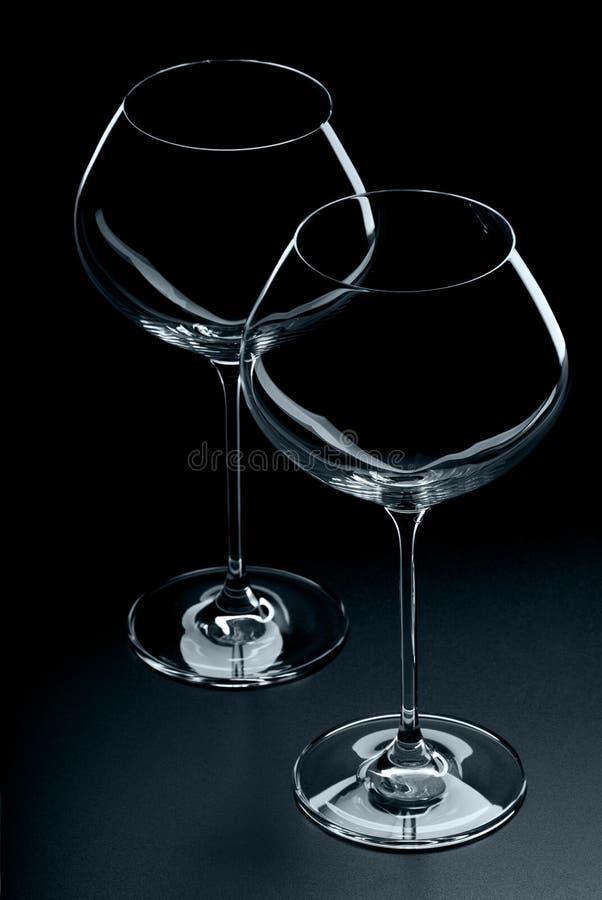 Download Wineglasses imagem de stock. Imagem de silhueta, estúdio - 29831975