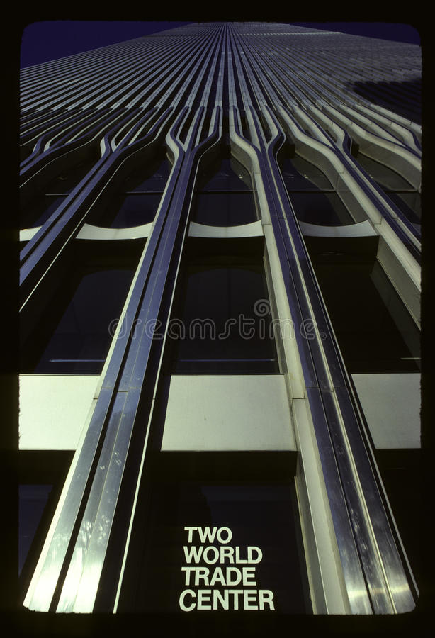 Dois World Trade Center fotografia de stock royalty free