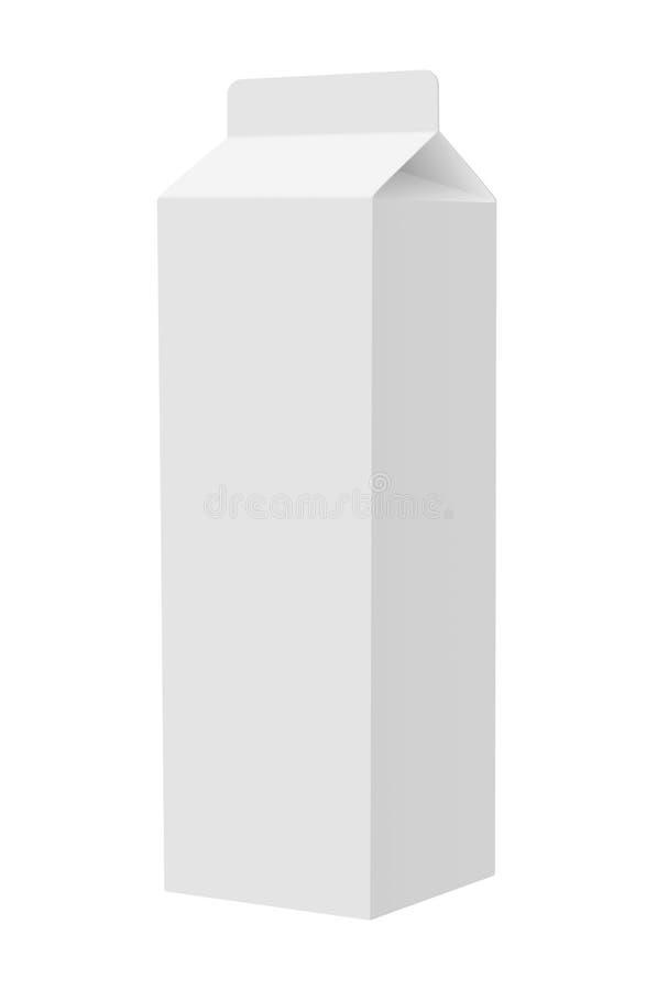 Dojna paczka na białym tle ilustracji