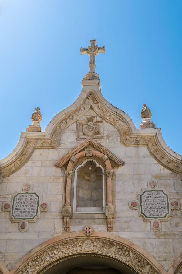 Dojny grota kościół obrazy royalty free