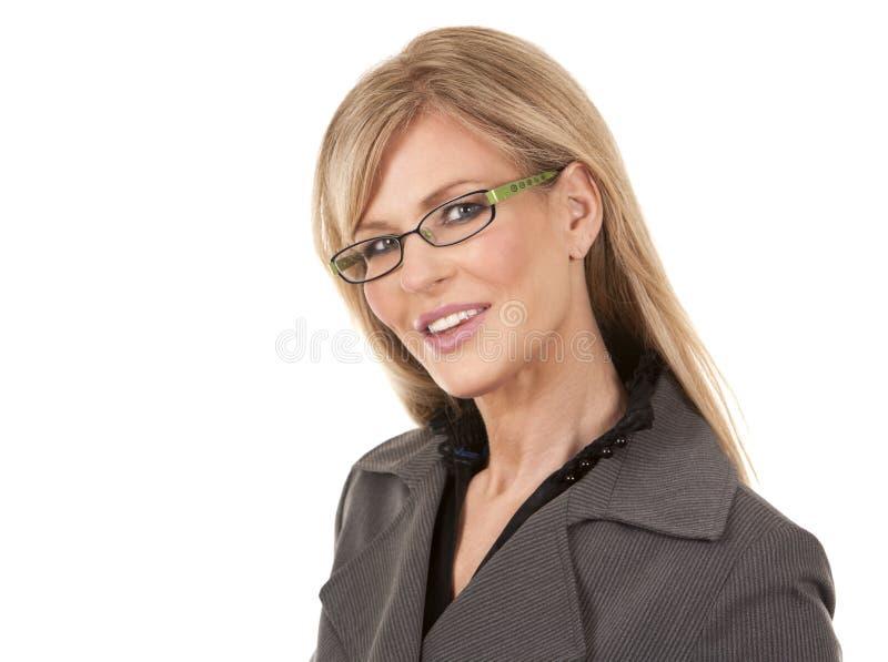 Dojrzała biznesowa kobieta zdjęcie royalty free