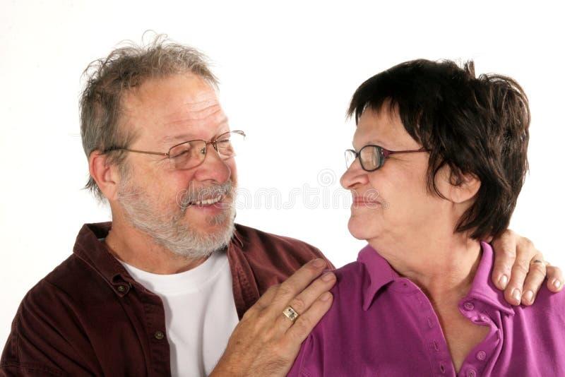 dojrzała pary miłość zdjęcia royalty free