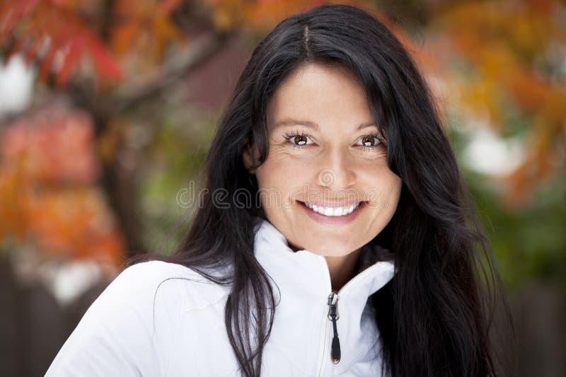 dojrzała portret kobiety zdjęcie royalty free