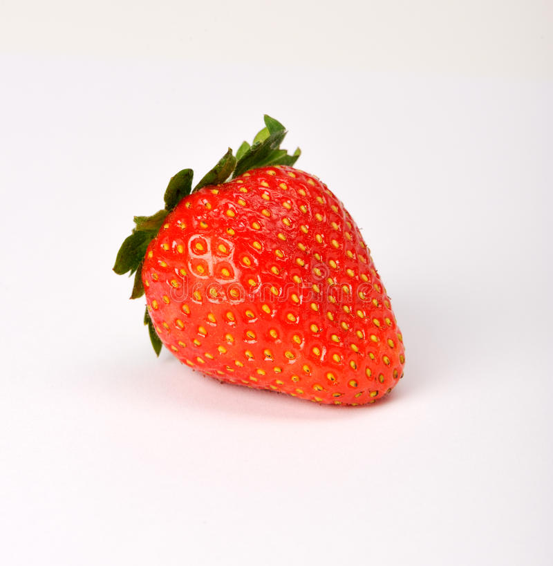 dojrzała truskawka obraz stock