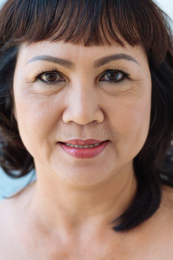 Dojrzała Wietnamska kobieta obraz stock