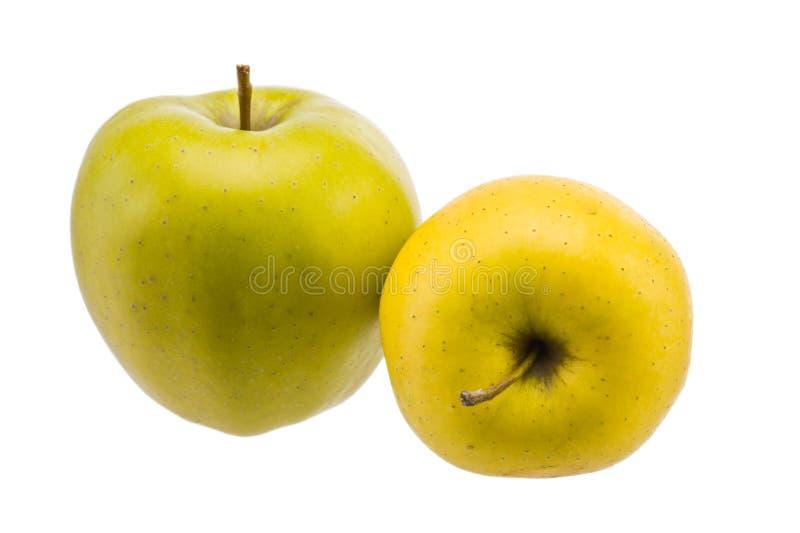 Dojrzałe bonkrety i jabłka zakończenie fotografia stock